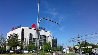 Huawei, ulica Vladimira Popovića, april 2016