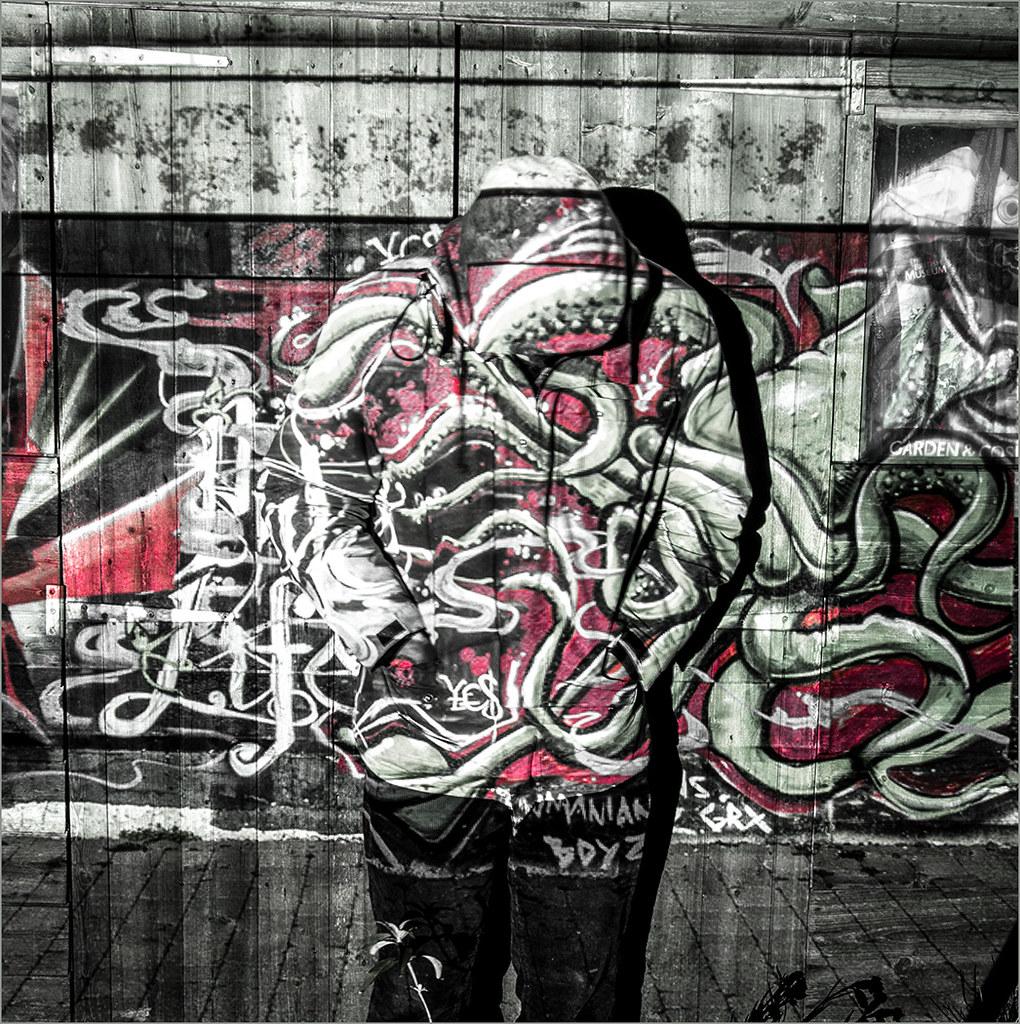 Graffiti man