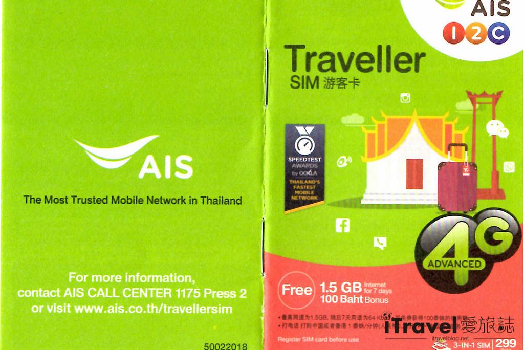 《泰国自由行》桃园机场SIM卡自动贩卖机:搭配AIS上网补充包加值服务,300元拥有14日无线上网!