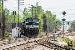 NS 9351 | GE C40-9W | CN Memphis Subdivision