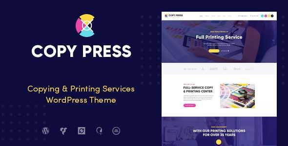 CopyPress WordPress Theme free download