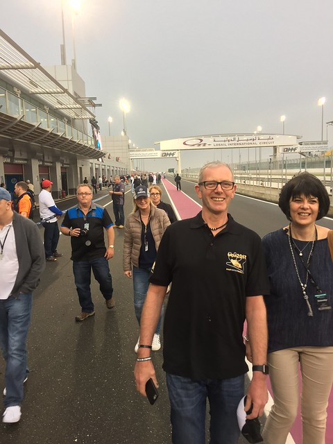 Saturday pit lane walk