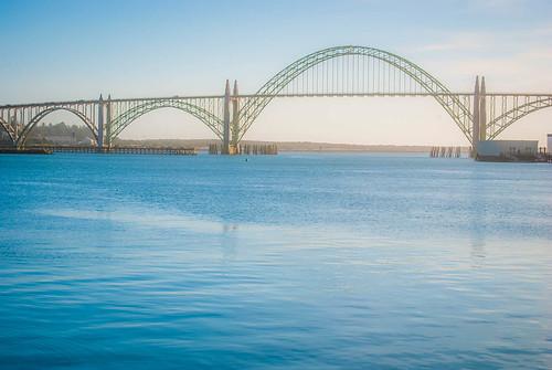 Bridge in Newport Harbor