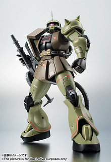 ROBOT魂 《機動戰士鋼彈》<SIDE MS> MS-06 薩克II(量産型ザク)   ver. A.N.I.M.E.  ~Real Type Color~ 【魂NATION 10th】