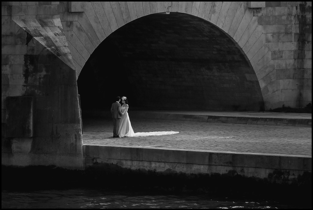 Bride and Groom - Paris - 2014