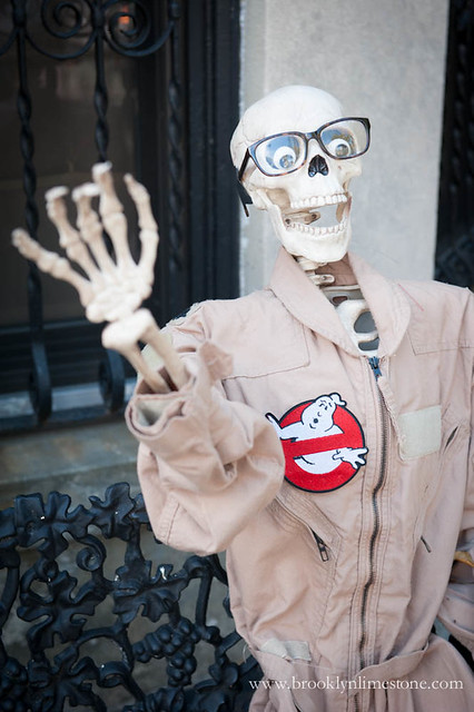 Ghostbusters Halloween Exterior|www.brooklynlimestone.com
