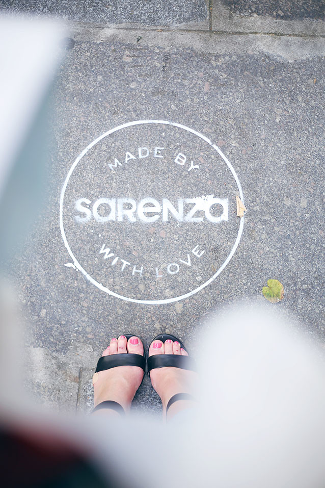 Sarenza Paris Shoe Launch