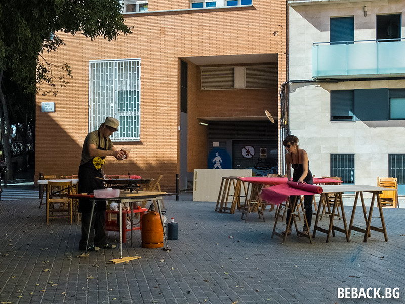 El Poble-sec, Barcelona on a Saturday afternoon