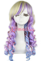 55cm Long Spring Bouquet Cosplay Wig C55