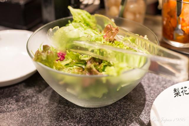 梨花食堂 サラダ