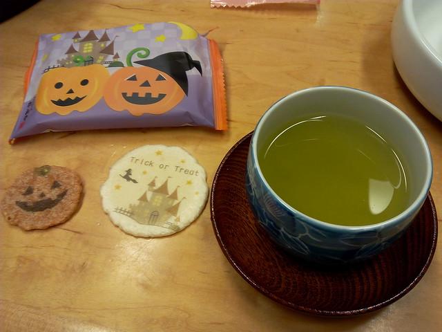 Halloween snacks, Japanese style.