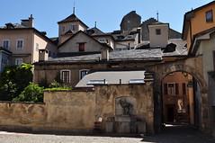 La vieille ville, Sion, canton du Valais, Suisse.