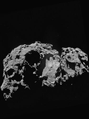 ESA Rosetta: NavCam 24 settembre 2014
