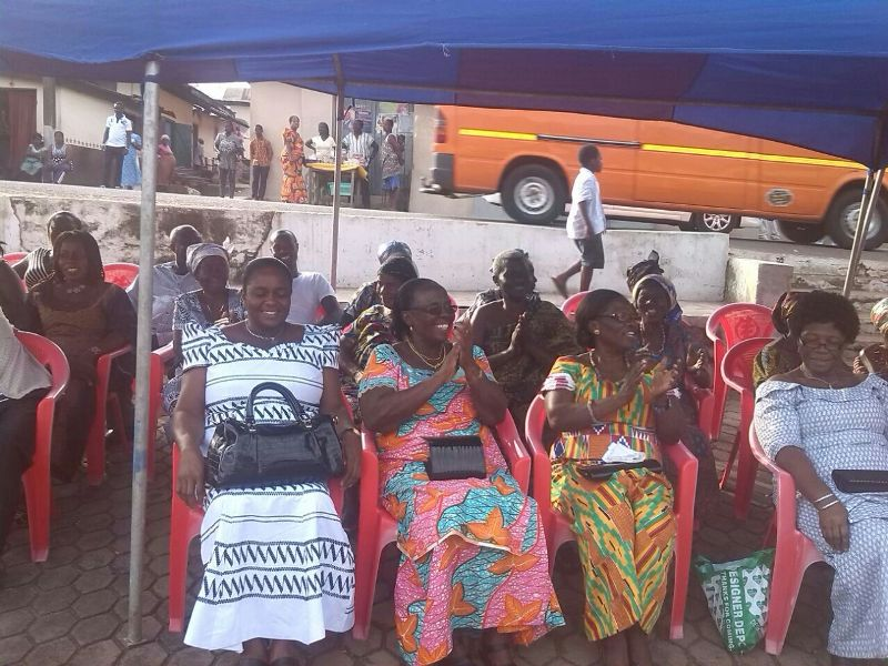 Durbar held in honour of Miss Ghana 2013 Nadia Ntanu