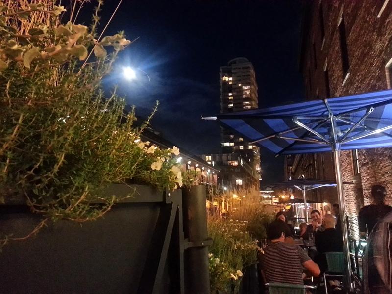 Barsa Taberna patio Toronto