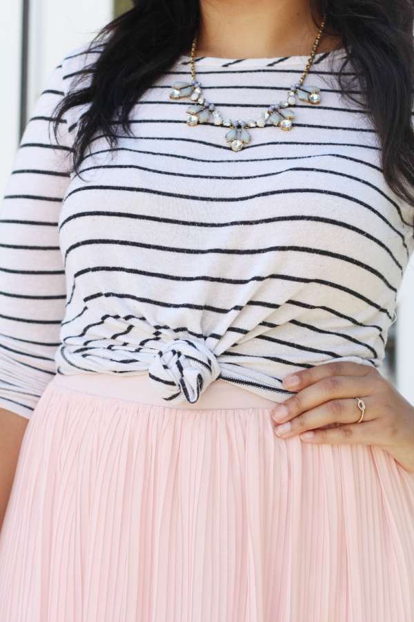 J. Crew Stripe Necklace
