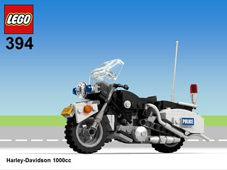 Lego Hobby Set #394 Harley Davidson 1000cc