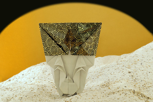 Origami 'Nefertiti' (Toyoaki Kawai)