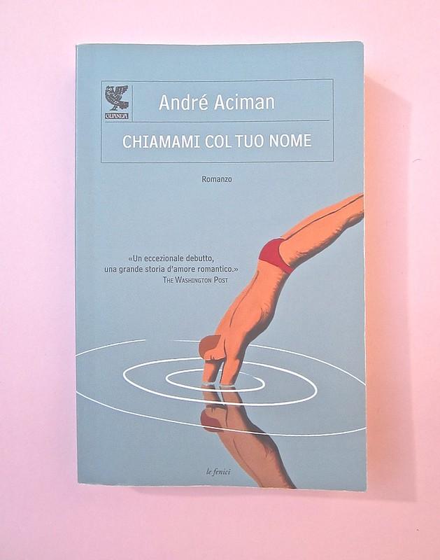 André Aciman, Chiamami col tuo nome. Guanda 2014. grafica di Guido Scarabottolo; illustrazione Giovanni Mulazzani. Copertina (part.), 1