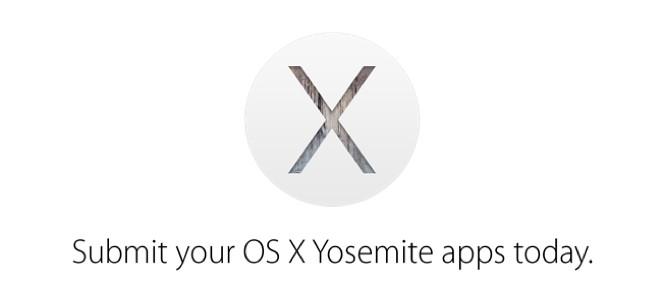 Apple prosi deweloperów o zgłaszanie programów dla OS X 10.10 do  Mac App Store