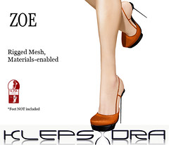 Klepsydra - Zoe Heels for SLink high feet