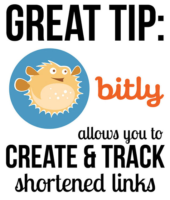 Helpful Humpday: Bitly allows you to create and track shortened links