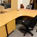 16 x 12 radial oak desk