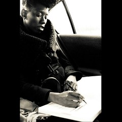 Dom London. Singer. Writer. Editor.Artist. World Traveler. @dmnqlndn #YoungPhillyEntrepreneurSeries #NikCPhotography #blackandwhite #entrepreneurs #phillyartists #cabride #dopeness #writers #wcw #philly #youngfemaleentrepreneurs #traveler