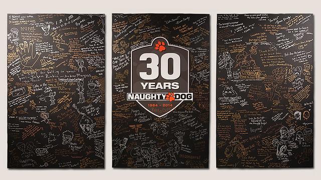 Naughty Dog 30 Year Anniversary Show