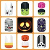 https://firebrunette.jamberrynails.net  #jamberry #jamstagram #halloweenparty #halloweenmanicure