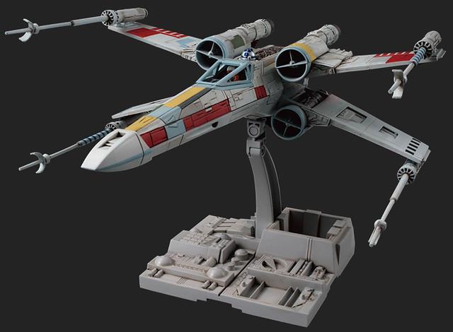 《星際大戰》組裝模型系列 - 1/72 比例X戰機