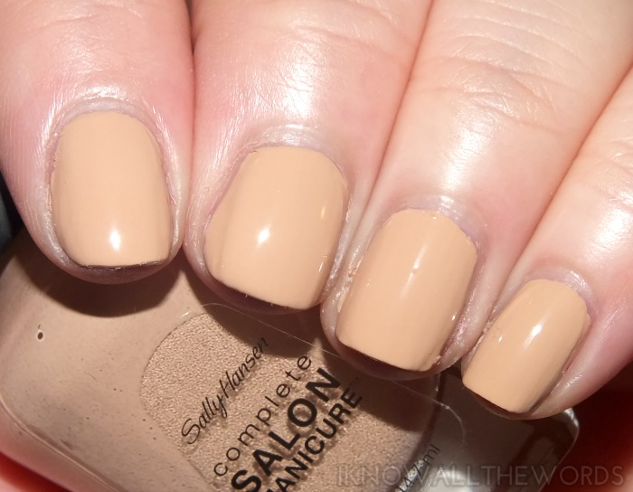 sally hansen complete salon manicure fall 2014- camelflage