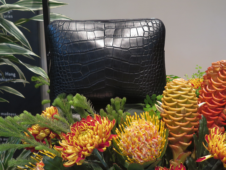 Jet black 31 Minute Clutch by 3.1 Phillip Lim for Lane Crawford