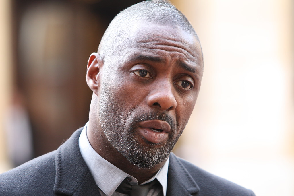 Idris Elba at the 'Defeating Ebola in Sierrra Leone' conference