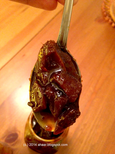 Sweet Mango pickle - the bengali way