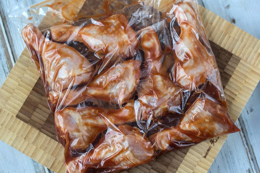 Recipe for Homemade BBQ marinated Chicken Drumsticks