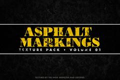 Asphalt markings texture packs