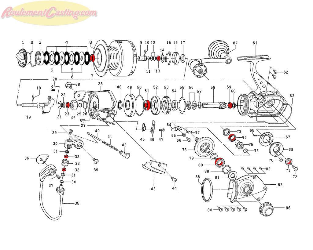 Schéma Daiwa Saltiga Z6500Exp