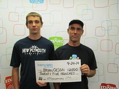 Brian Olso - $2,500 25th Anniversary