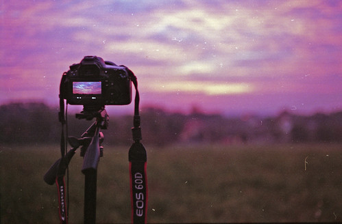 film sunrise canon 50mm timelapse fuji superia 18 expired 50e 60d