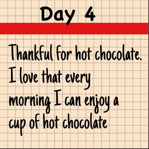Day 4 Hot Chocolate