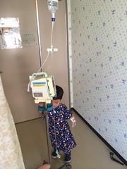 Sam's hospital trip