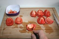22 - Tomaten entkernen / Decore tomatoes