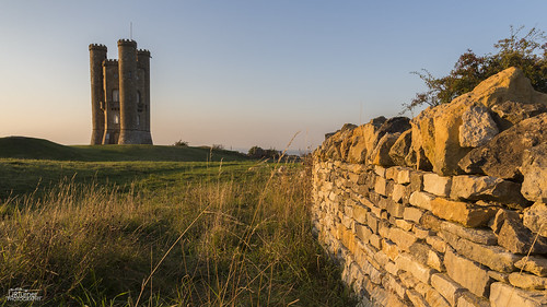 sunset summer landscape cotswolds broadwaytower jrturnerphotography