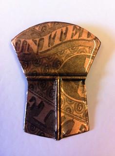 Potlatch dollar pendant