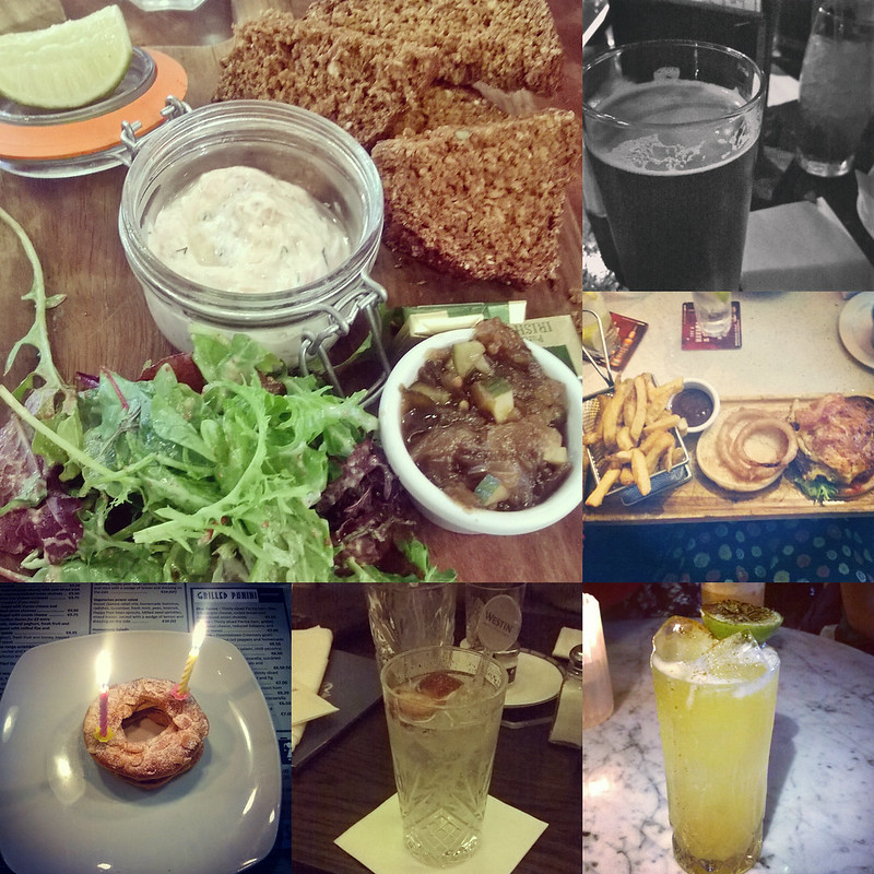 August InstaFood Collage