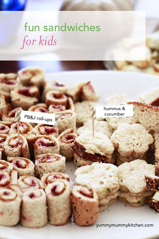 kids sandwiches