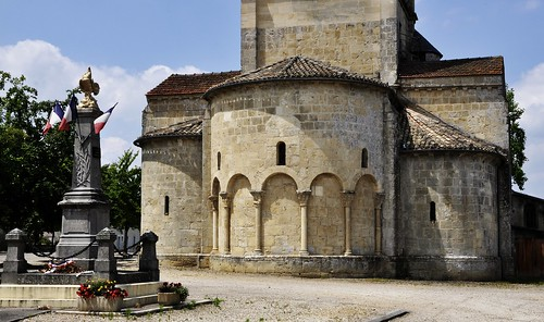 Aillas (FR-33), kostel
