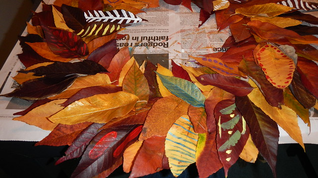 Fall Leaf Wreath 19
