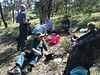 Red Hill volunteers working bee October 2014